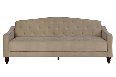 tufted sofa sleeper dhp furniture novogratz vintage tufted sofa sleeper ii