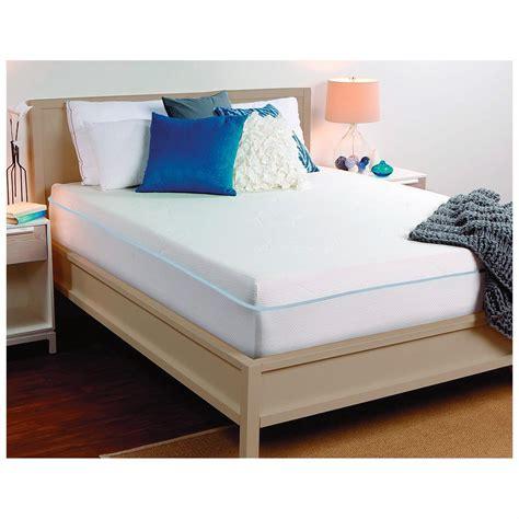 memory foam futon mattress queen sealy 10 quot memory foam mattress queen 299701 mattresses