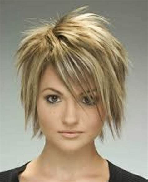 short layered choppy bobs with side bangs short choppy layered bob hairstyles