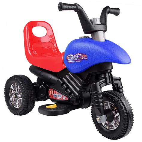 battery powered motocross bike kids ride on cool 3 wheel toy motorcycle 6v battery