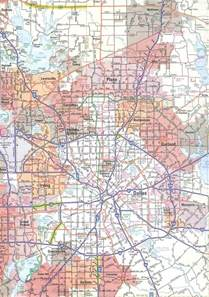 dallas on map map of dallas