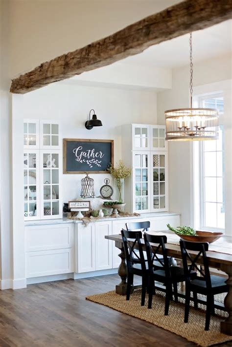 Farmhouse Dining Room by Modern Farmhouse Home Tour With Household No 6
