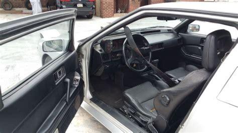 mitsubishi starion dash 1988 mitsubishi starion turbo condition no