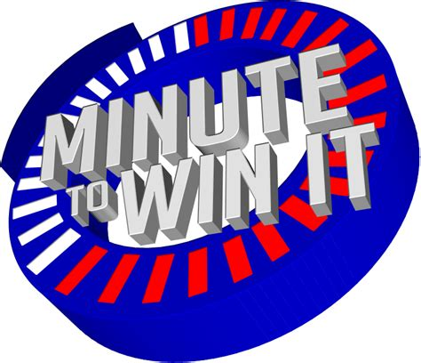 minute to win it minute to win it fanmade logo by migsgarcia5127 on
