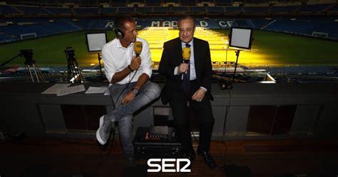 cadena ser deportes el larguero las im 225 genes de la entrevista de florentino p 233 rez en el