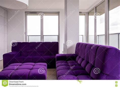 purple living room furniture living room with purple furniture stock photo image