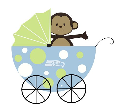 cartoon themes for baby shower it s a boy baby shower theme seahawks and monkeys