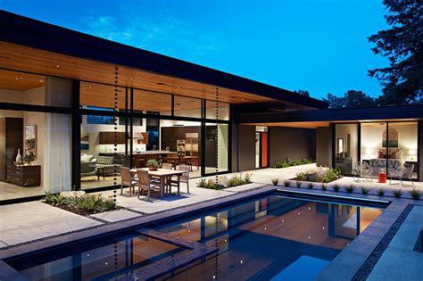 glass wall house glass wall house custom design meets eichler inspired