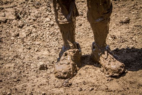 muddy shoes spartan race barbed wire mud pits and socks