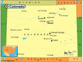 colorado state map cities colorado deaf bikers webpages
