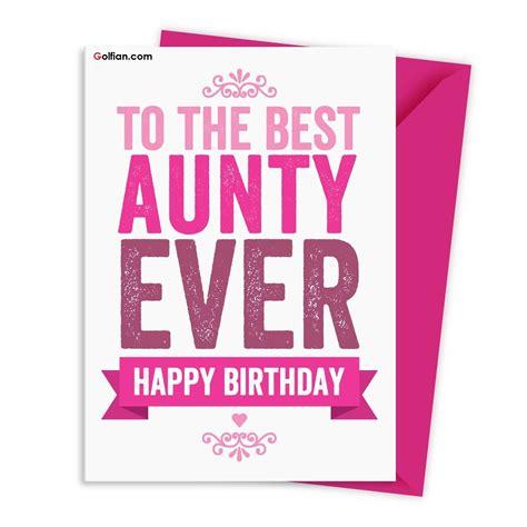 happy birthday aunt cards gangcraft net