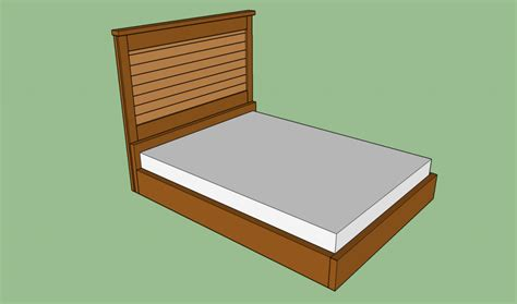 how to build a wooden bed frame howtospecialist how to
