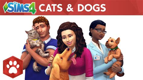 cats and dogs sims 4 the sims 4 cats dogs official reveal trailer