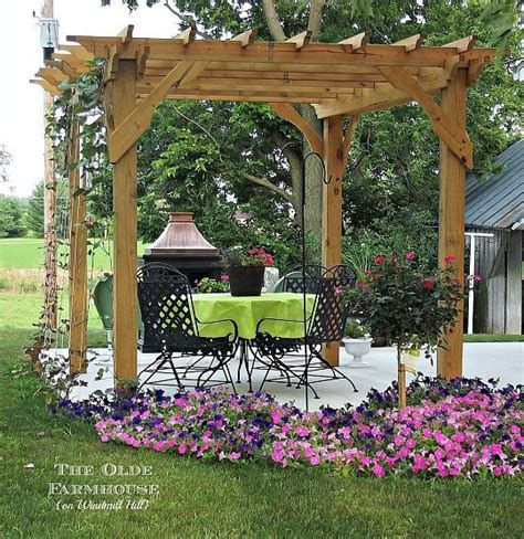 build your own pergola for an outdoor retreat