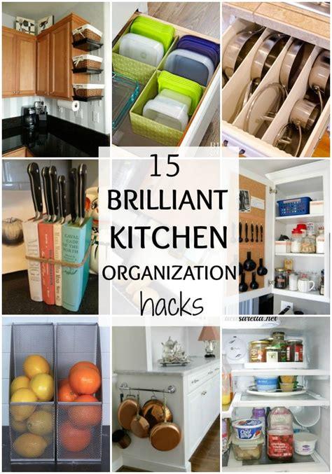 brilliant kitchen organization hacks  blissful nest