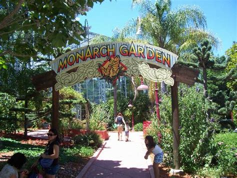 Gilroy Gardens Family Theme Park Gilroy Ca - entrance to the monarch butterfly garden bild fr 229 n gilroy gardens family theme park gilroy