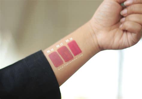 Review Dan Harga Wardah Lip review swatches new shade wardah exclusive matte lip