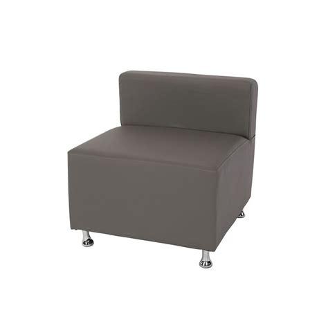 armless recliner chair white mod high back armless chair a chair affair inc
