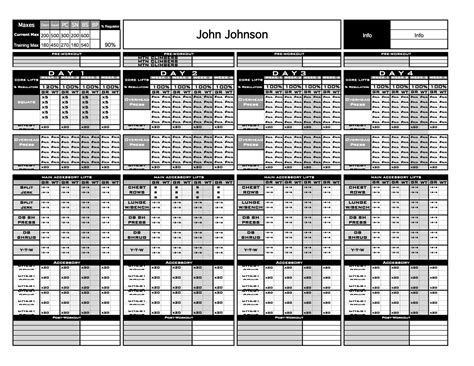 gold strength conditioning templates excel platinum strength conditioning templates excel