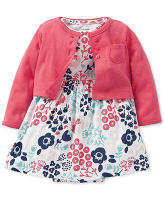 Baju Anak Cater S Set Penguin Pink s baby 2 cardigan dress set baby