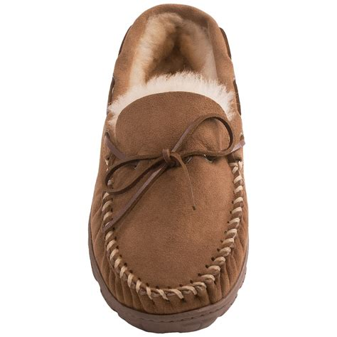 shearling slippers for clarks moc shearling slippers for save 64