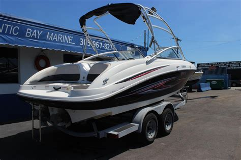 yamaha boats for sale used 2007 used yamaha ar210 jet boat for sale 17 900 miami