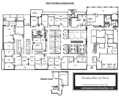 layout of building pdf calabasas executive suites building layout