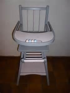 design chaise haute combelle