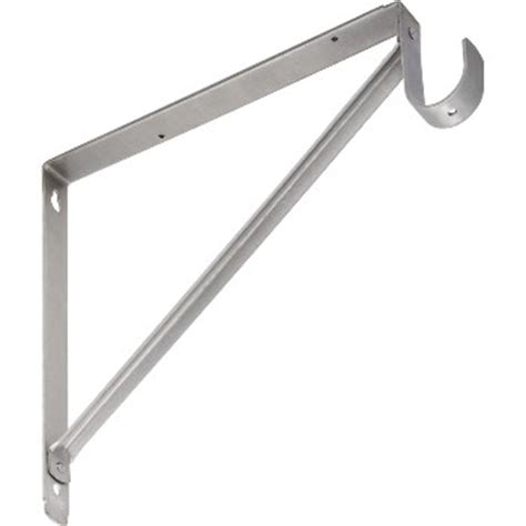 Hanging A Shelf With Brackets by Buy The National 820209 Shelf Hanging Rod Bracket Satin
