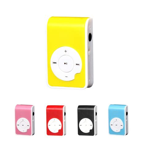 Mp3 Mini Plastics Clip Mp3 Player Tf Card Mp3 Jepit Shuffle 5 farbe plastic mini clip usb mp3 player support micro sd tf card media ebay