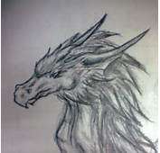 Cool Dragon Pencil Drawings Drawing By