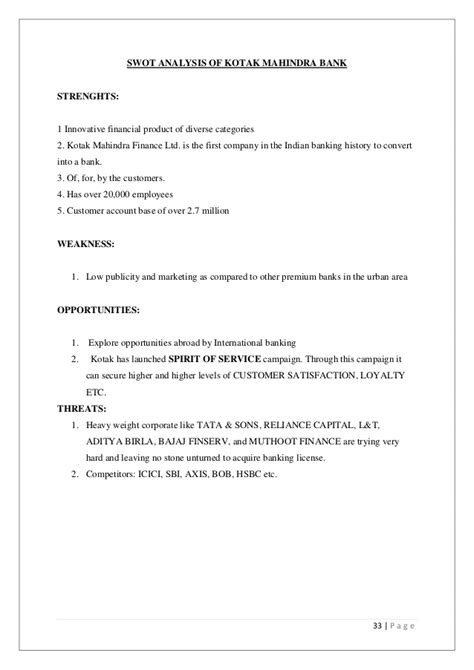 Account Closing Letter For Kotak Mahindra Bank A Study On E Banking Facility Of Kotak Mahindra Bank