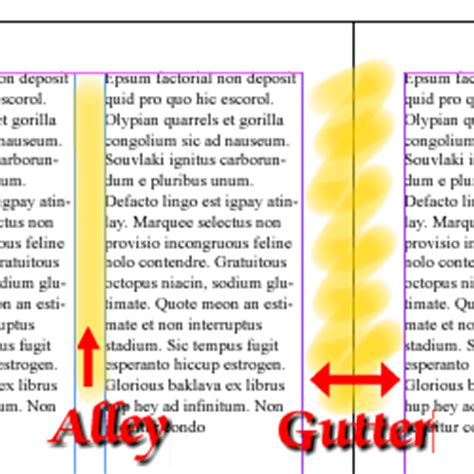 page layout gutter definition mind the gutter in publishing and layout