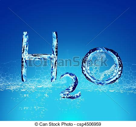 Small Plans by Stock Illustration Of H2o Water Letters H2o Water
