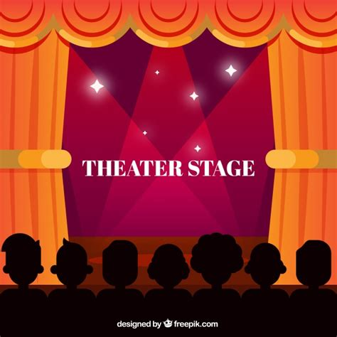 free stage background design vector theater stage background vector free download