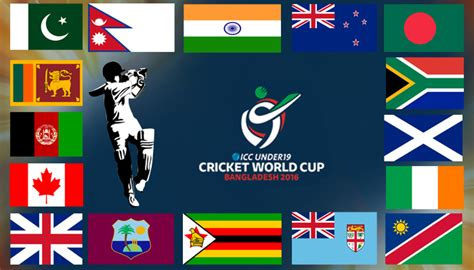 Under 19 World Cup Standings by Icc U19 World Cup 2016 All 16 Teams Squad Players List