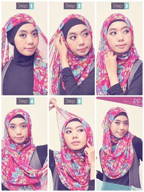 tutorial hijab turban pashmina simple 1000 images about tutorial hijab on pinterest shops