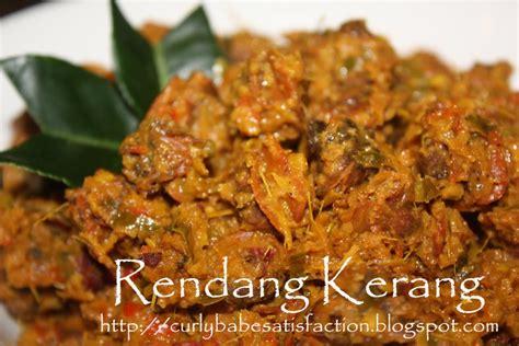 Lu Kerang curlybabe s satisfaction rendang kerang