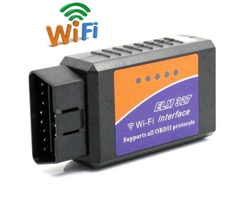 Obd2 Wifi elm 327 wifi wireless elm327 obd2 obdii auto diagnostic scanner tool adapter for android pc