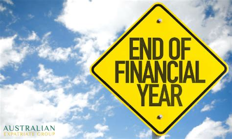 what date does new year end end of financial year tax planning for australian expats