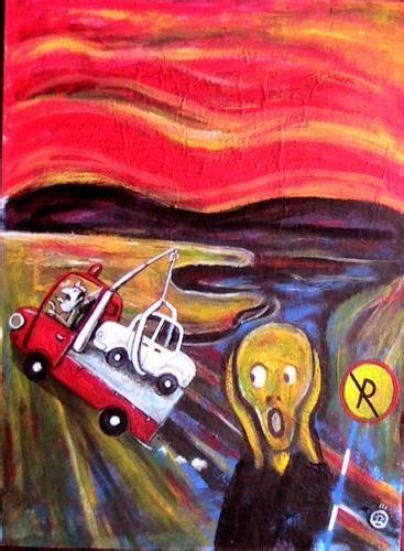 art parody 17 best images about art parodies the scream on pinterest