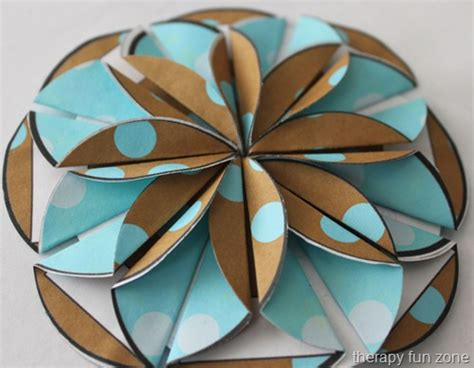 Paper Folding Flowers For - paper folded flowers therapy zone
