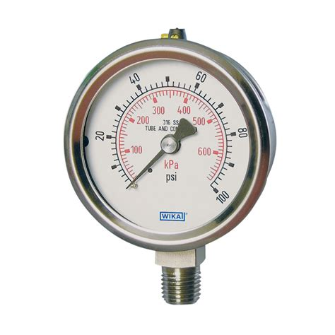 Pressure Wika 232 50 bourdon pressure gauges 232 53 233 53 wika usa
