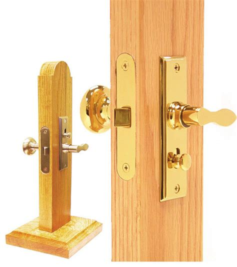 How To Mortise A Door by Polished Brass Screen Door Mortise Lock Set