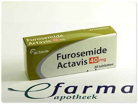 Tablet Furosemide 40mg 1 Isi 10 furosemide drank fna medicijnen medicijninformatie