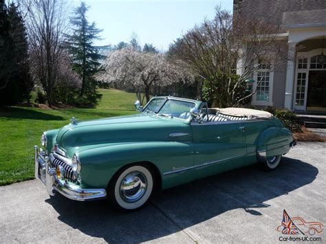 1948 buick roadmaster convertible for sale 1948 buick roadmaster convertible series 70 excellent