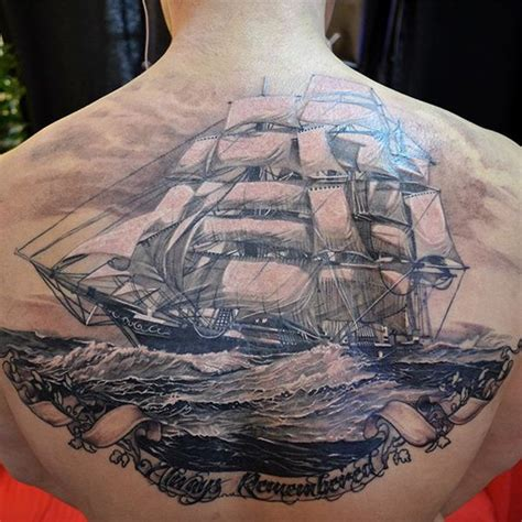 sailboat tattoos ship tattoos page 4