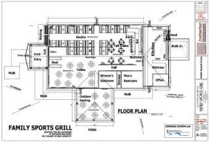sports bar floor plans fsg11002nc