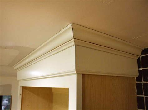 how to cut crown molding for kitchen cabinets kitchen installing crown molding on kitchen cabinets