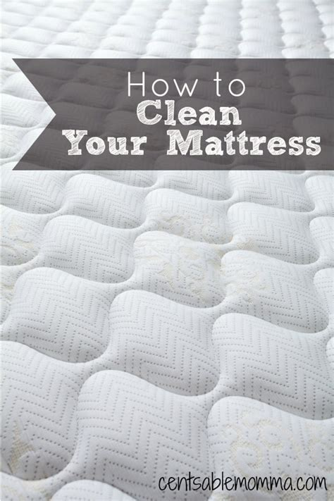 How To Clean The Bed Mattress by How To Clean Your Mattress Centsable Momma